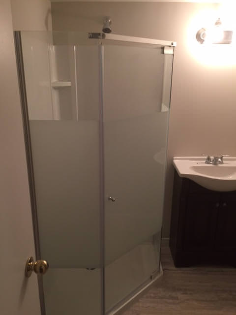 Before and after bathroom renovation pictures for Shower reno