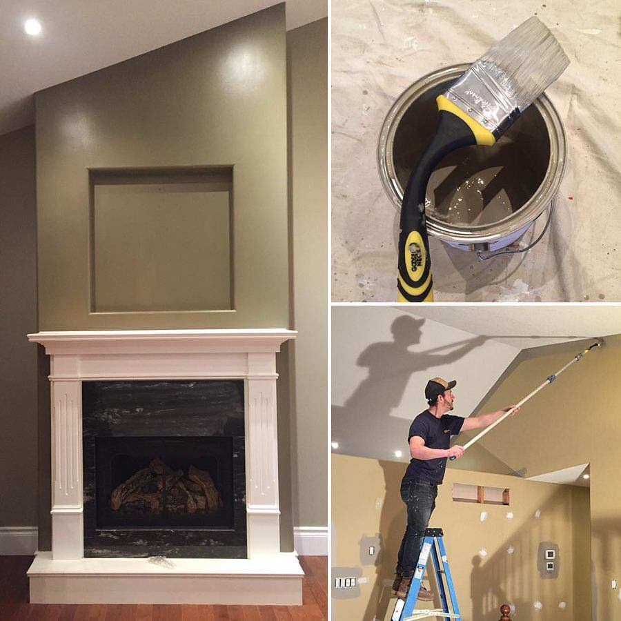 Kitchen Renovation Hamilton Ontario: Before And After Interior Painting Pictures