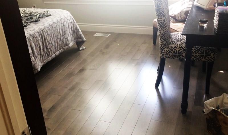 Kitchener Hardwood Flooring Job 01