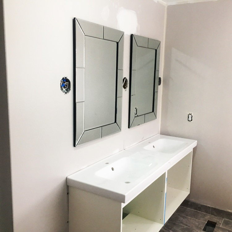Finished Bathroom Renovation