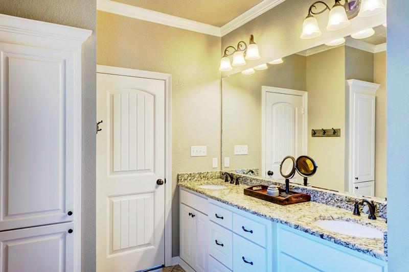 Gorgeous bathroom vanity renovation
