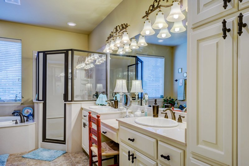 Bathroom vanity renovations example