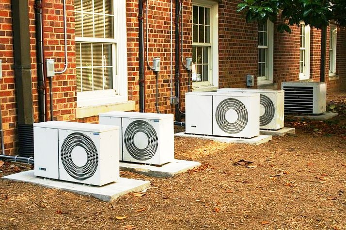 External home air conditioners